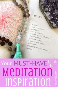 This must-have book is full of meditation inspiration- it gives great meditation ideas for a whole year! It's perfect for meditation for beginners Meditation Books, Best Meditation, Meditation Benefits, Meditation For Beginners, Meditation Techniques, Meditation Space, Chakra Meditation, Yoga Benefits, Mindfulness Meditation