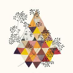 Image of Trianglelady Print - 15€