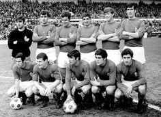 EQUIPOS DE FÚTBOL: REAL OVIEDO contra Gijón 04/05/1969