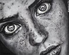 Los retratos realistas de Christina Papagianni | OLDSKULL