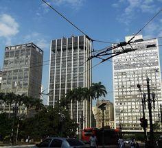 Visão rua Barão de Itapetininga