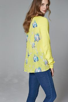Don't look back in anger - our Lola top is pretty from every angle.