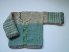 Hand made baby cardigan  free shipping by KnitDjin on Etsy, $40.00