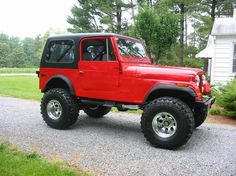 Jeep CJ7 I bought a new one in 1986. it got me to the Grand Canyon and back.