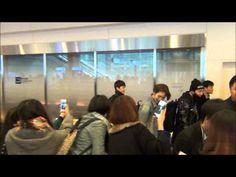 131115 WINNER Haneda Airport Fancam