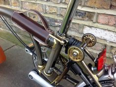 Customised raw lacquer Brompton