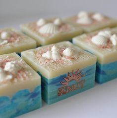 Sunlit Beach Handcrafted Artisan Soap by Sunlitsoap on Etsy