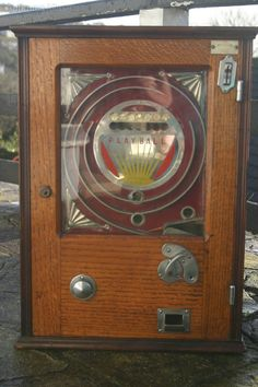 Antiques Atlas - Vintage Penny In The Slot Playball Machine