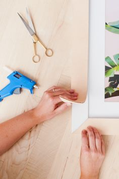 How to Make Leather Picture Frames