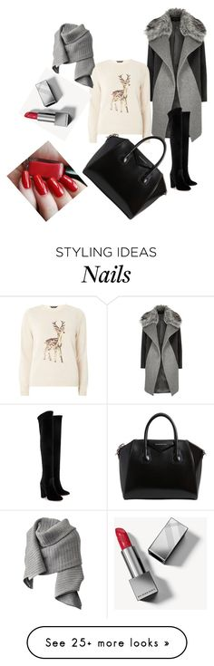 """""""Women fashion"""" by muhamed-hodzic on Polyvore featuring River Island, Dorothy Perkins, Givenchy, Aquazzura, Burberry and Acne Studios"""