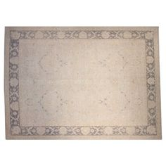"""Check out this item at One Kings Lane! 9'9""""x13'9"""" Regal Rug, Light Blue/Gray"""