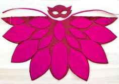 Owlette costume from the PJ Masks. A fun and vibrant Halloween or Carnival costume for toddler and pre-schooler girls.   BHB Kidstyle