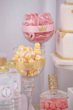 Pink & Gold Princess Party
