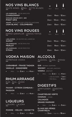 Beautiful Restaurant And Coffee Shop Menus For Inspiration Menu Restaurant, Hotel Menu, Pinot Gris, Food Logo Design, Logo Food, Coffee Shop Menu, Menu Boards, New Menu, Wine List