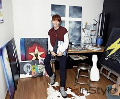FT Island Choi Jong Hun - Instyle Magazine October Issue '15