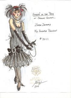 Image result for singing in the rain costume designs