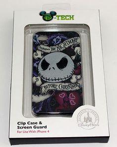 NIGHTMARE BEFORE CHRISTMAS JACK SKELLINGTON Disney iPhone 4 Case Cover