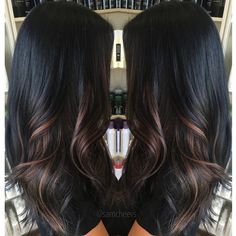 Ombre Balayage Dark Hair