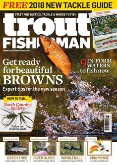Issue 507 on sale February 2018 Sea Angling, Fishing Magazines, Types Of Fish, Latest Issue, Fly Tying, App Store, Trout, Google Play, February