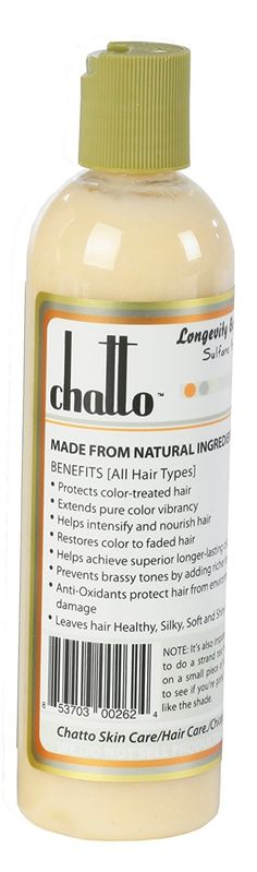 Chatto Longevity Botanical Honey Blonde Enhancement Hair Color Conditioner, 6fl oz *** More info could be found at the image url.