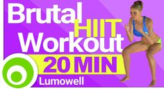 20 Minute Brutal HIIT Workout for Fat Loss at Home