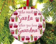Hey, I found this really awesome Etsy listing at https://www.etsy.com/listing/86497921/christmas-ornament-gift-for-grandma-gift