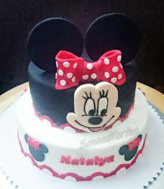 Minnie mouse Cake  Minnie Maus Torte