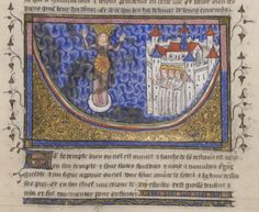Detail of the Vision of Heaven, from the Yates Thompson Apocalypse, Paris, c. 1370-c. 1390, Yates Thompson MS 10, f. 19r