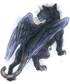 Tressym picture | Cat, Winged