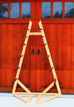 tower self standing surf rack