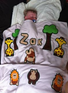 Zak's Finally asleep! bless him xx  Buy this blanket @ www.minimixkidsdesigns.co.uk Or link our Facebook Page and Visit our Shop - or Email us @ minimixkidsdesigns@gmail.com
