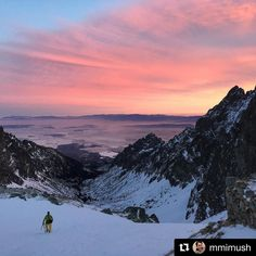 Majestátne... uprostred čarovnej scenérie  #praveslovenske od @mmimush  #inversion #hiking #clouds #rocks #hills #landscape #nature #winter #snow #slovakia #slovensko #mountains