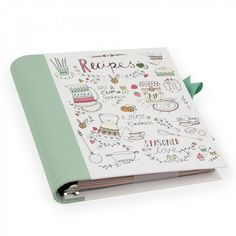 Hand-drawn recipe file - Paperchase