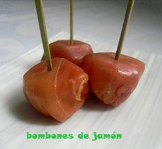 BOMBONES DE JAMÓN