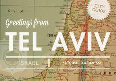 Tel Aviv, Israel City Guide - Design*Sponge