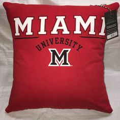 A personal favorite from my Etsy shop https://www.etsy.com/listing/492771998/oxford-ohio-university-tshirt-pillow