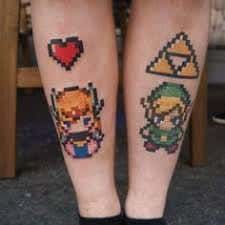 Legend Of Zelda Tattoo 3