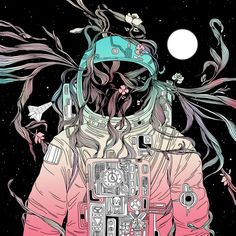 """Check out Society6 post by Norman Duenas (@nduenas) titled """"Life is Invading My Space"""""""