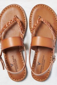 AEO Women's Braided & Wide Strap Sandal from American Eagle