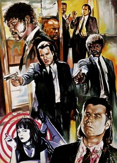 Pulp Fiction by AlasmarBadreya