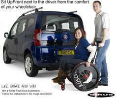 "WIN: a Free Amazon Kindle   1-	Like our page  2-	Like the Photo  3-	Share the photo on your wall and comment by writing ""I Want  a Kindle""  PLEASE NOTE : YOU MUST DO ALL STEPS OR YOUR ENTRY WILL NOT BE VALID  http://www.facebook.com/pages/Sirus-Automotive-Ltd-Wheelchair-Accessible-Vehicles/120529974635332"