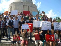 Varna-BULGARİA.  Support of Turks and foreigners from different cities in the world #Occupygezi #Occupytürkiye #direngeziparkı