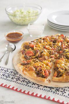 Cheeseburger Pizza | eMeals