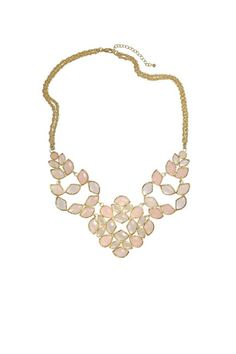 Breast Cancer Awareness  Kendra Scott Grayce Statement Necklace in Petal