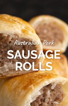 Australian Pork Sausage Rolls - Homemade pork sausage rolls are such an Aussie staple. They're so easy to make in batches, freeze and cook when you're feeling lazy!   wandercooks.com #pork #sausageroll #sausagerolls #australianfood
