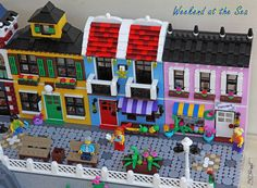 Weekend at the Sea Lego Building, Building Ideas, Lego Projects, Projects To Try, Lego Beach, Classic Lego, Lego City Sets, Awesome Lego, Cool Lego Creations