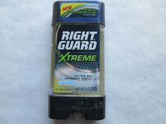 RIGHT GUARD XTREME ULTRA GEL ENERGY DEODORANT ANTI-PERSPIRANT FREE SHIPPING USA #RIGHTGUARD