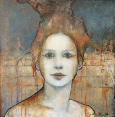 Joan Dumouchel - Contemporary Artist - Figurative Painting - Coralie