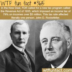 How rich was John D. Rockefeller? - WTF fun facts