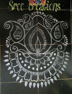 Ideas For Crochet Edging Patterns Free Simple Rangoli Designs Latest, Rangoli Designs Images, Rangoli Designs Diwali, Beautiful Rangoli Designs, Rangoli Borders, Rangoli Border Designs, Rangoli Patterns, Crochet Edging Patterns Free, Crochet Blanket Patterns